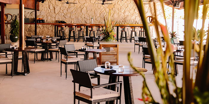 Terrasse from El Kabron Spanish Restaurant & Cliff Club in Jimbaran, Bali