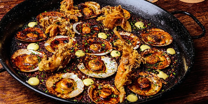 Paella from El Kabron Spanish Restaurant & Cliff Club in Jimbaran, Bali