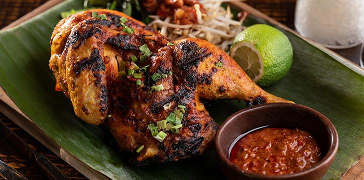Ayam Bakar Taliwang from Taliwang Restaurant in Bugis, Singapore