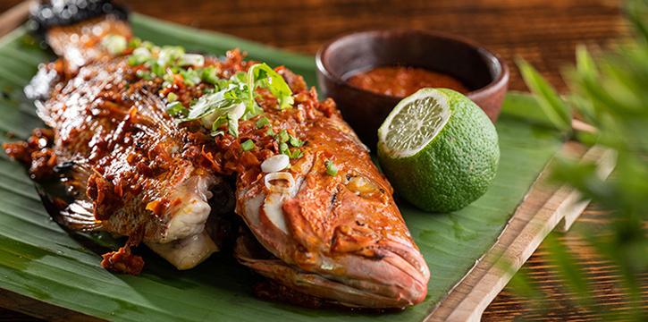 Ikan Bakar Taliwang from Taliwang Restaurant in Bugis, Singapore