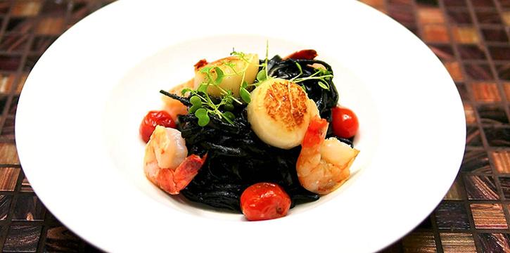 Seafood Squid Ink Pasta from Wonderland Savour (Wisma Atria) in Orchard, Singapore