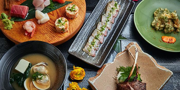 Different Dishes, Tokio Joe, Lan Kwai Fong, Hong Kong