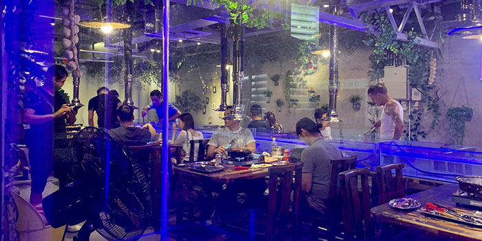 Dining Area, Thai BBQ Shrimp, Yuen Long, Hong Kong