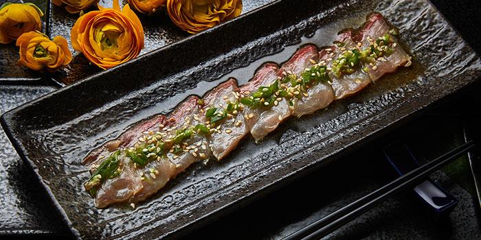 Fish with sauce, Tokio Joe, Lan Kwai Fong, Hong Kong