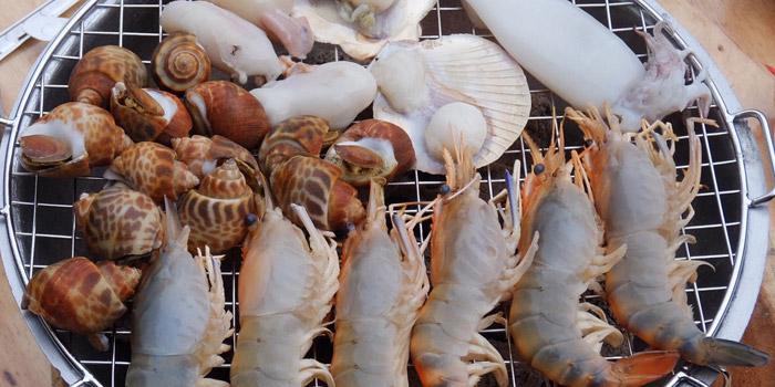 Fresh Seafood from Kodtalay Seafood Buffet at 55 Phaya Thai Road Ratchathewi Bangkok