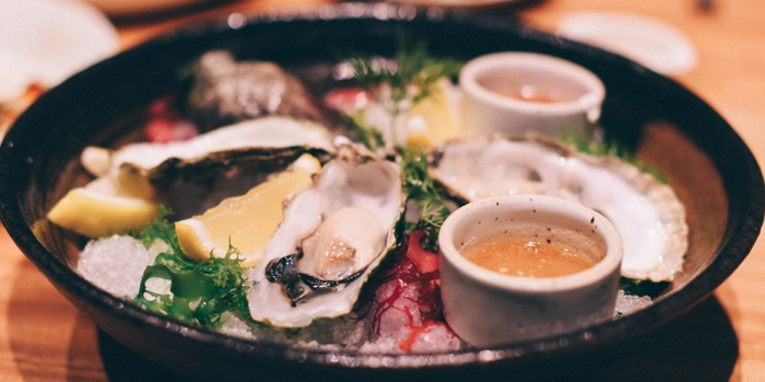Fresh Oysters from Ivy 47 at 28 Soi Sukhumvit 47 Klongtan-Nua, Wattana Bangkok