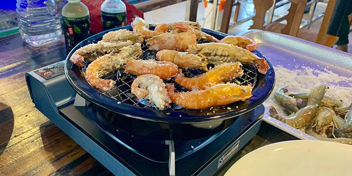 Grilled Prawn, Thai BBQ Shrimp, Yuen Long, Hong Kong