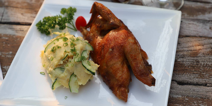 Half Roasted Chicken from Alexander