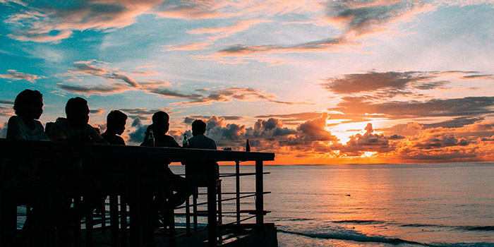 View from Single Fin, Uluwatu, Bali