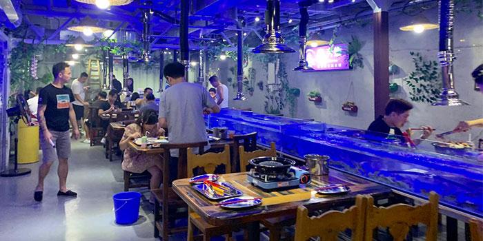 Interior, Thai BBQ Shrimp, Yuen Long, Hong Kong