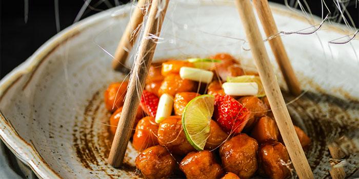 Sweet Sour Chicken at Li Feng (Mandarin Oriental Jakarta))
