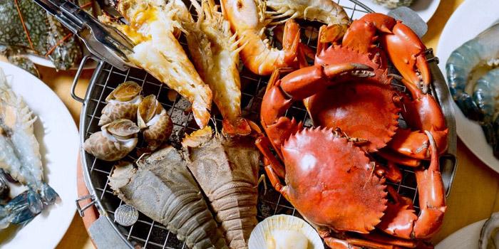 Mixed Seafood from Kodtalay Seafood Buffet at 55 Phaya Thai Road Ratchathewi Bangkok