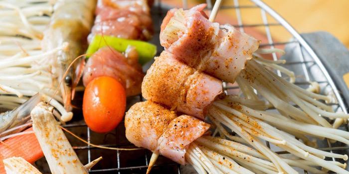 Mushroom & Bacon from Kodtalay Seafood Buffet at 55 Phaya Thai Road Ratchathewi Bangkok