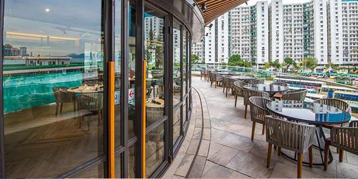Outdoor Dining Area, Bong Pro-dry aging steakhouse, Hung Hom, Hong Kong