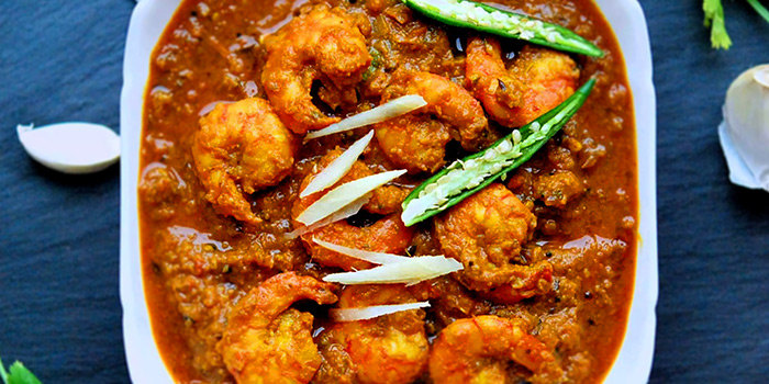 Prawns Masala from Indian Curry House (Siglap) in East Coast, Singapore
