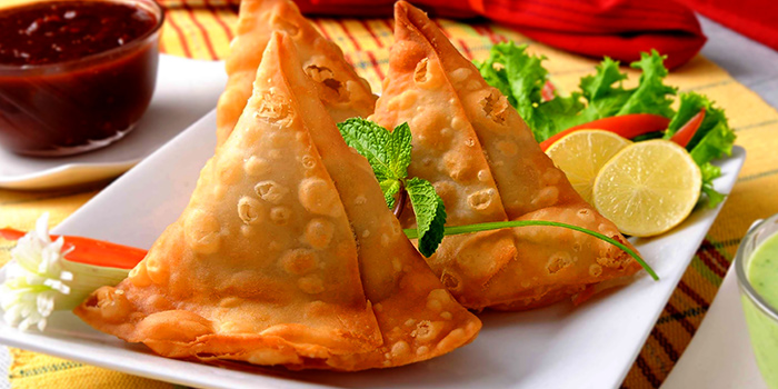 Vegetable Samosa from Indian Curry House (Siglap) in East Coast, Singapore