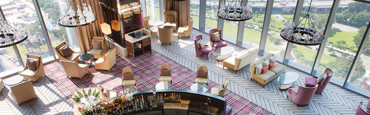 Interior of Lobby Lounge at The Westin