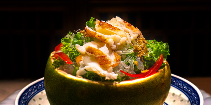 Pomelo Salad from The Dragon Chamber in Boat Quay, Singapore