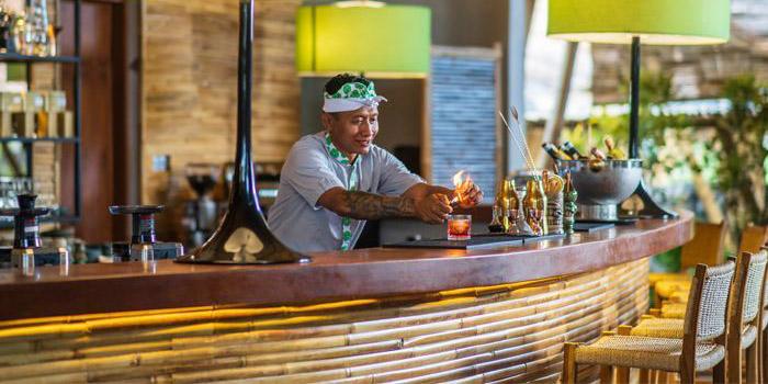 Bar from Wanaku Restaurant, Kuta, Bali