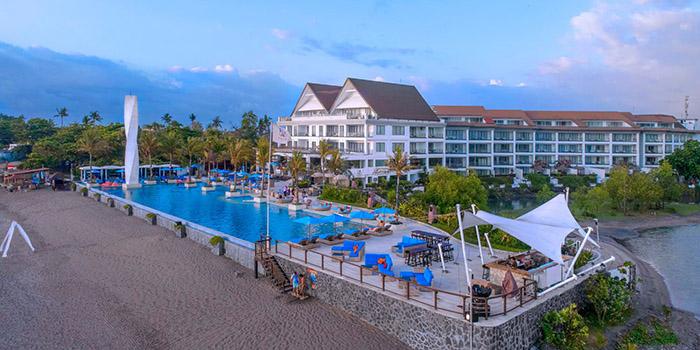 Exterior from Vuew Beach Club, Canggu, Bali