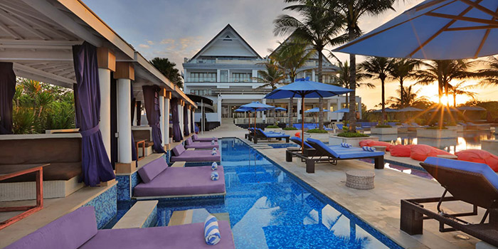 Exterior from Vuew Beach Club, Canggu, Bali