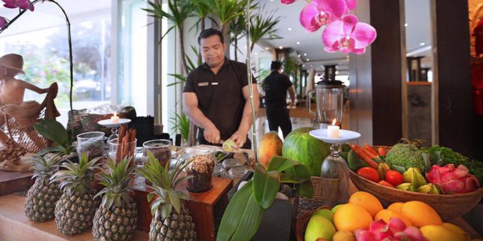 Juice from Vuew Beach Club, Canggu, Bali