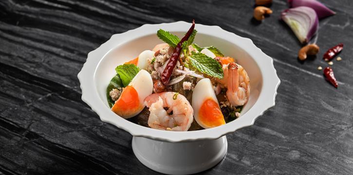 Yum Makeua Yao from Market Cafe at Hyatt Regency Sukhumvit Bangkok Hotel 1 Sukhumvit Soi 13 Kloengtoei Nua, Watthana Bangkok