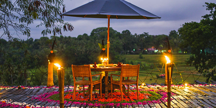 Afrika Deck Romantic Dinner