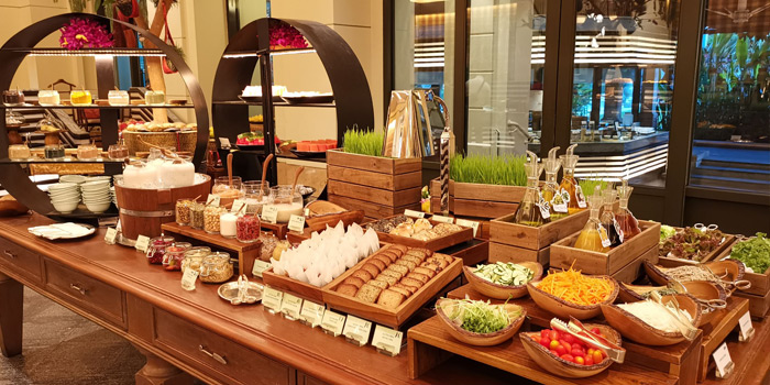 Buffet Station of River Café & Terrace at The Peninsula Bangkok