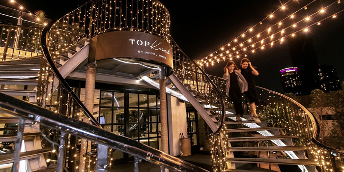 Ambience from Topknot Rooftop Bar & Restaurant at Hotel Once Bangkok 2074/99 Charoenkrung 72/2 ,Bangkorlaem Bangkok