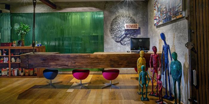 Ambience of Nomad Rooftop Lounge and Bar at Galleria 10 hotel Bangkok 21 sukhumvit soi 10 Bangkok