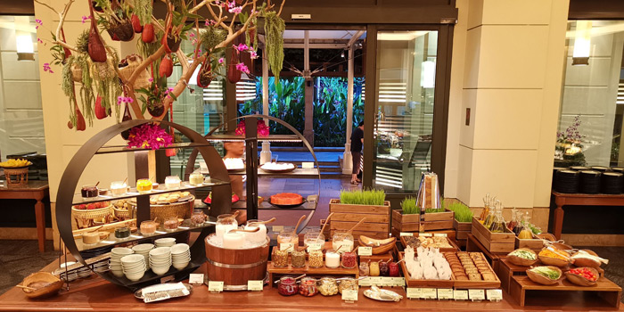Buffet Station from River Café & Terrace at The Peninsula Bangkok