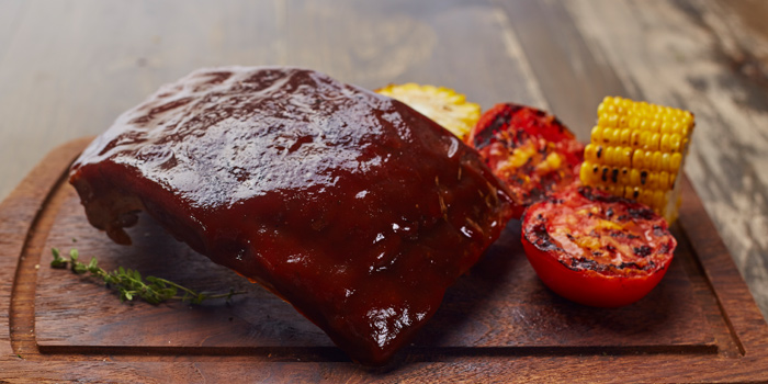 American BBQ Pork Ribs from Cafe