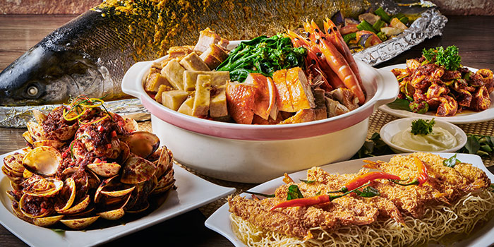 Asian Seafood from J65 @ Hotel Jen Tanglin at Hotel Jen in Tanglin, Singapore