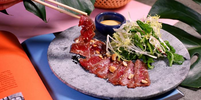 Beef Tataki, Uma Nota, Central, Hong Kong