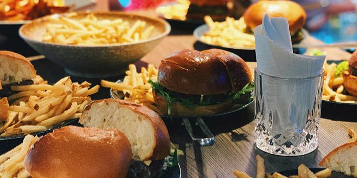Burger with Fries, Strokes HK, Causeway Bay, Hong Kong