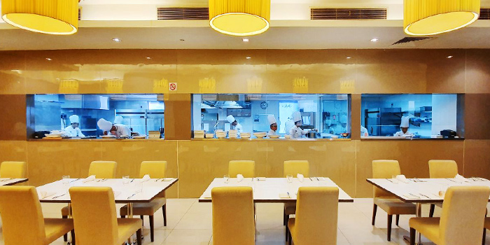 Interior of CIA ToP Table at Temasek Culinary Academy in Tampines, Singapore