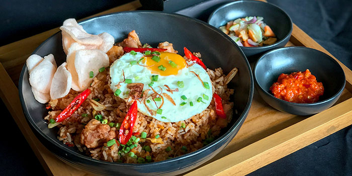 Food from MoMo Cafe, Nusa Dua, Bali