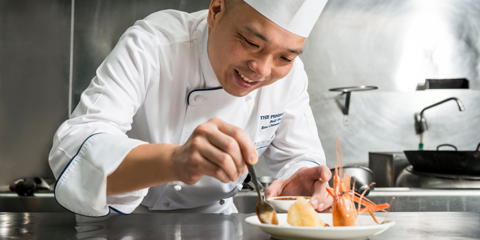 Chef Ball Yau from Mei Jiang at The Peninsula Bangkok