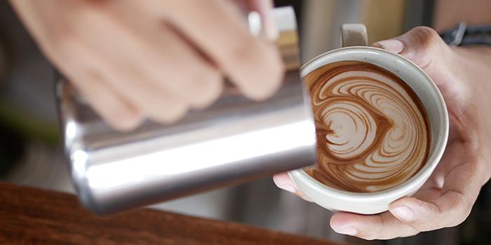 Coffee from Kalyana Restaurant, Ubud, Bali