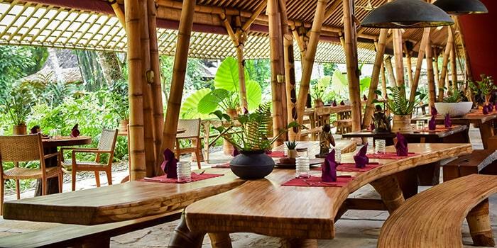 Interior from Bambu Indah Kitchen, Ubud, Bali