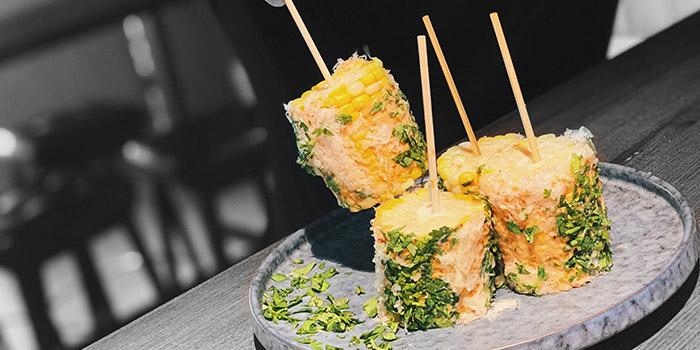 Corn with Cheese, Strokes HK, Causeway Bay, Hong Kong