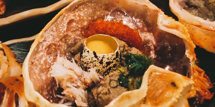 Crab Meat with Crab Paste Mix Egg, Nan Ei Sui San, Tsim Sha Tsui, Hong Kong
