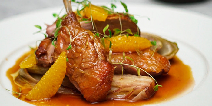 Roast Duck a l'Orange from The English House by Marco Pierre White in Robertson Quay, Singapore