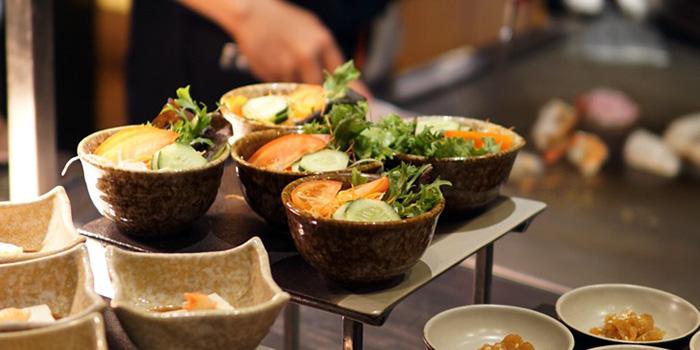 Food from Hamabe Japanese Restaurant, Nusa Dua, Bali