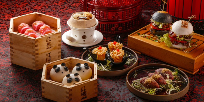 Dim Sum, Redhouse (Midtown), Causeway Bay, Hong Kong