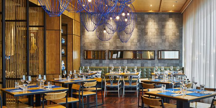Dining Area of Le Dalat EmQuartier at EmQuartier 7/F Helix Building 693 Sukhumvit Road, Wattana Bangkok