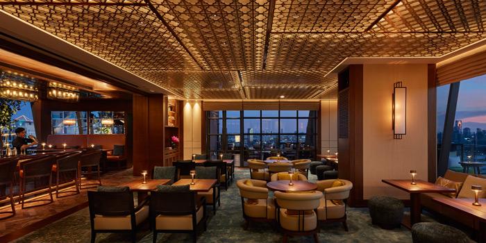 Dining Area of Spectrum Lounge & Bar at Hyatt Regency Sukhumvit Bangkok Hotel 1 Sukhumvit Soi 13  Kloengtoei Nua, Watthana Bangkok