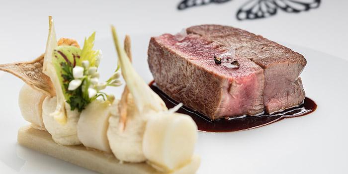 Dry-aged beef tenderloin, The Tasting Room, Coloane-Taipa, Macau