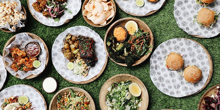 Food from Hatch, Uluwatu, Bali